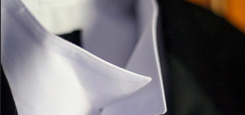 colletto camicia bianca