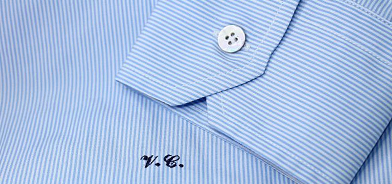 new style 8aeef 24d83 Iniziali sulla camicia: un dettaglio che la rende speciale ...