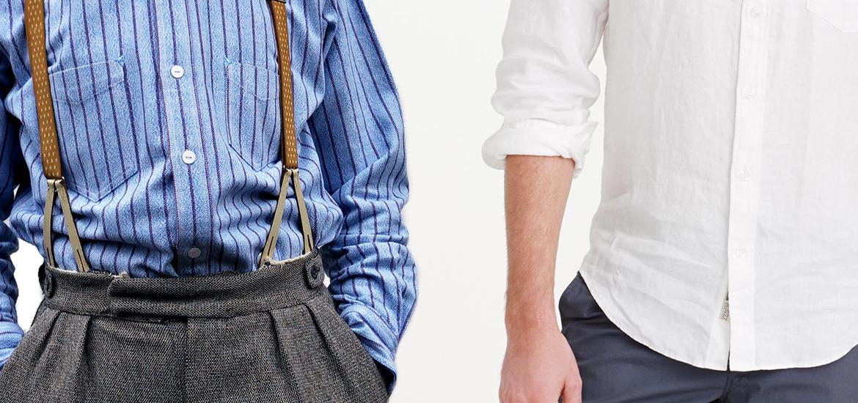 camicia nei pantaloni